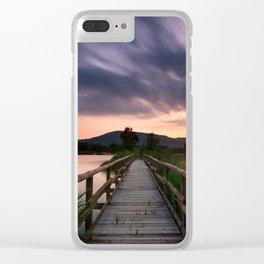 Escape II Clear iPhone Case