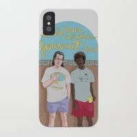 pulp fiction iPhone & iPod Cases featuring Pulp Fiction by Vannia Palacio
