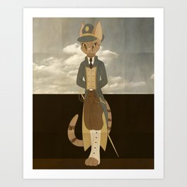 Ocicat Art Print