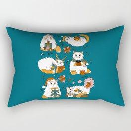 Christmas cats Rectangular Pillow