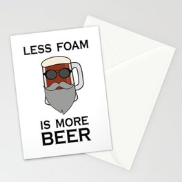 Biker beer Stationery Cards