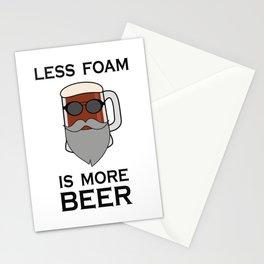 Biker beer Stationery Cards