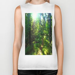 Sunshine Forest Biker Tank