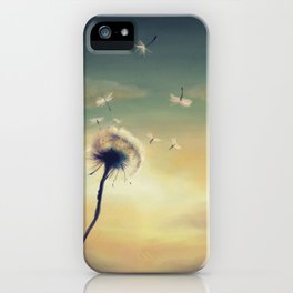 Dandelion iPhone Case