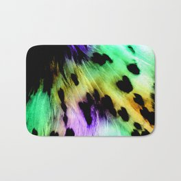 Creme Swirl Bath Mat
