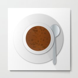 Oxtail Soup Metal Print