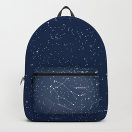 GEMINI - Astronomy Astrology Constellation Backpack