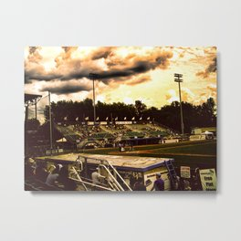 """Last Out For The Win! Metal Print"