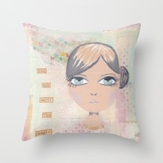 You are worth the magic Throw Pillow