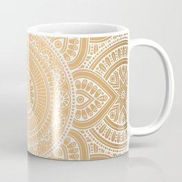 Gold Mandala 3 Coffee Mug