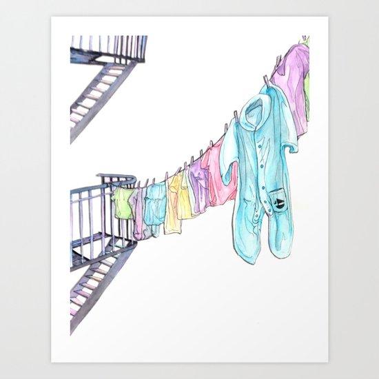 Big Baby Art Print