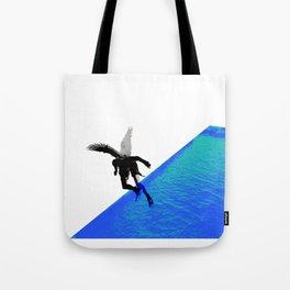 Icarian Fall#4: ABoyThatFellFromTheSky Tote Bag