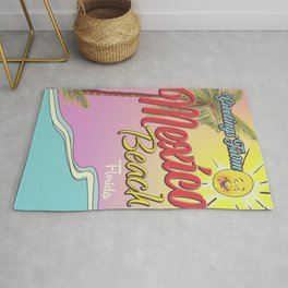 Greetings From Mexico Beach Florida Rug