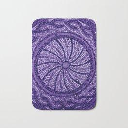 Ultra Violet Stone Tiles 18-3838 Bath Mat
