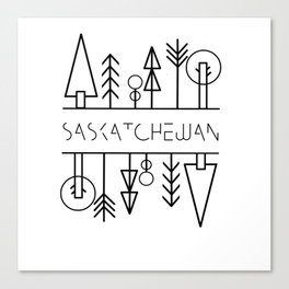 Saskatchewan Trees Canvas Print