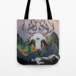 Sacrifice to the Cosmic Gods Tote Bag