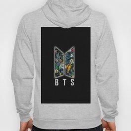 Logo BTS Flowers Hoody