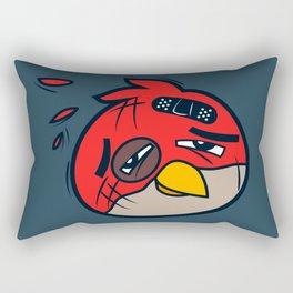 Battered Bird I Rectangular Pillow