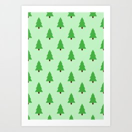 The Forest for the Trees Art Print