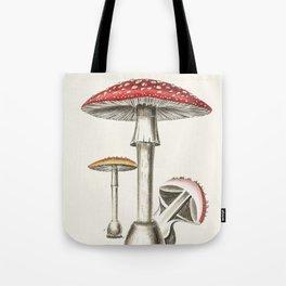 The Real Mushroom Tote Bag