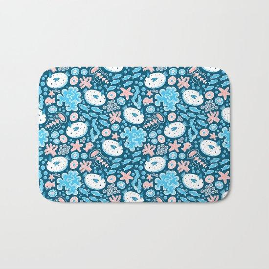 Sea Bunnies Bath Mat