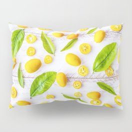 Fruits and leaves pattern (22) Pillow Sham