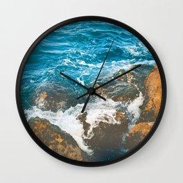 Rocky Ocean Shore No1 Wall Clock