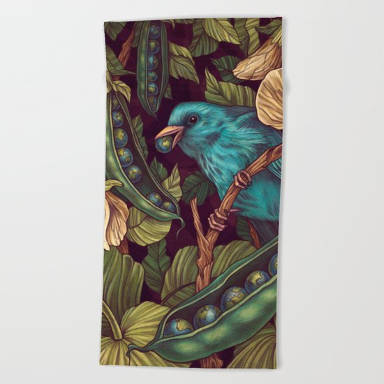 World Peas Beach Towel
