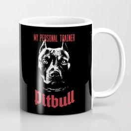 Pitbull My Personal Trainer Coffee Mug