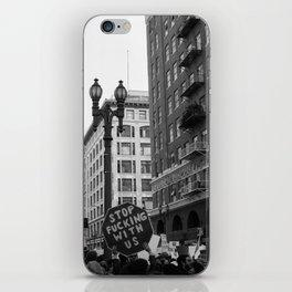 Protest - DTLA iPhone Skin