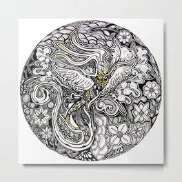 The Phoenix (Part 1 0f 3) Metal Print