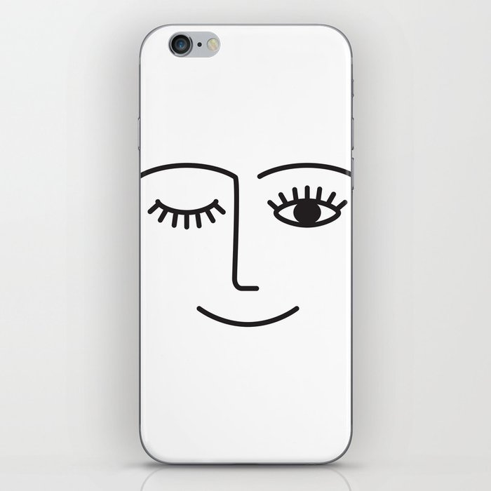 Wink iPhone Skin
