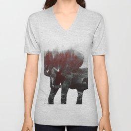 Elephant V1 Unisex V-Neck