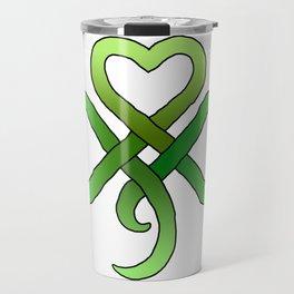 Celtic Clover Travel Mug