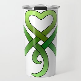 Celtic Clover Travel Mug