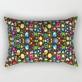 Stained Glass-3 Rectangular Pillow