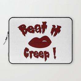 Beat it Creep! Cry Baby Laptop Sleeve