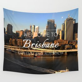 Brisbane, Australia Wall Tapestry
