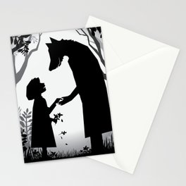 Meeting The Wolf Stationery Cards