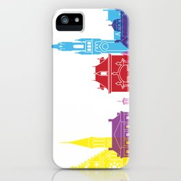 The Hague skyline pop iPhone Case