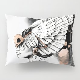 Bird of Minerva Pillow Sham