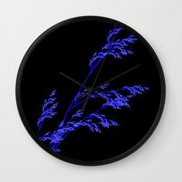 Nature,Minimal,blue Wall Clock