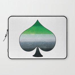 Aromantic Ace Laptop Sleeve