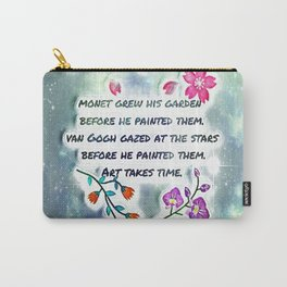 Art Quote Carry-All Pouch