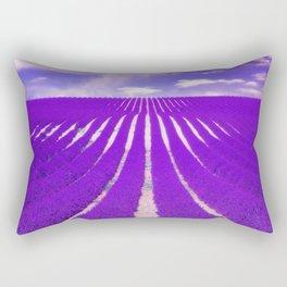 LAVENDAR FIELD Rectangular Pillow