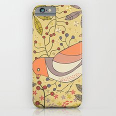 Wild Berry Garden Bird Slim Case iPhone 6s