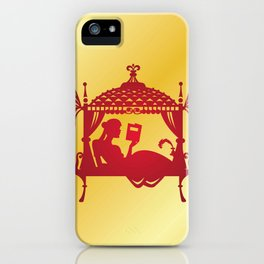 Bridal Palanquin India.doli silhouette iPhone Case