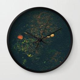 Someone Killed This Mushroom Wall Clock