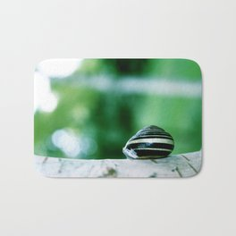 Snail on Silver Birch Bath Mat