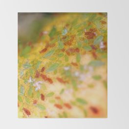 Aphids Throw Blanket